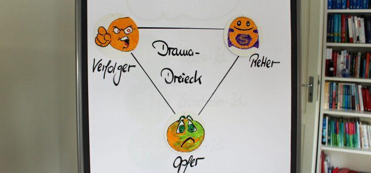 Blog #4 – Drama im Büro erkennen, verstehen und lösen mit dem Drama-Dreieck